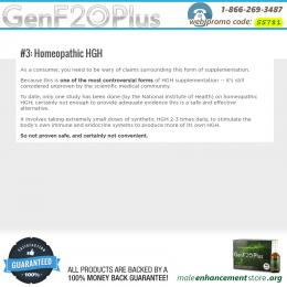 Homeopathic HGH