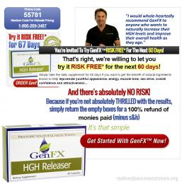 GenFX HGH Releaser Risk Free Trial 60 Days