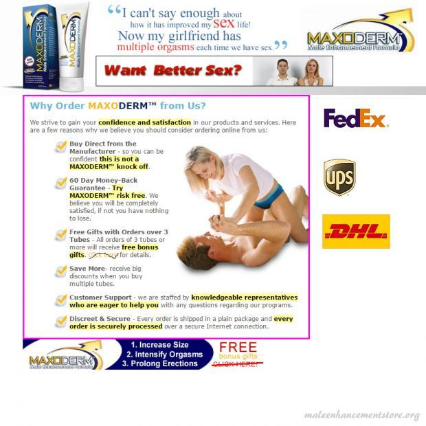 6 Reasons to Buy Maxoderm male enhancement CREAM