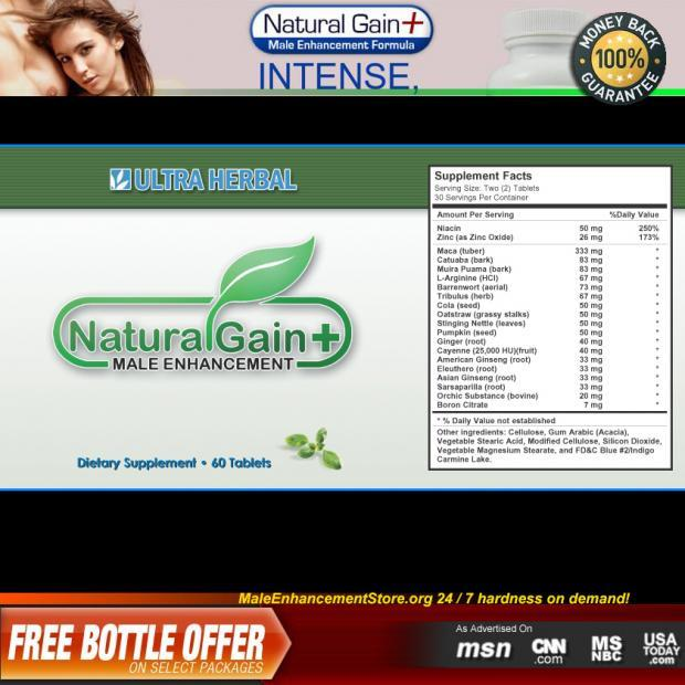 Natural Gain Plus Ingredients
