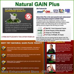 Natural Gain Plus Customer Reviews